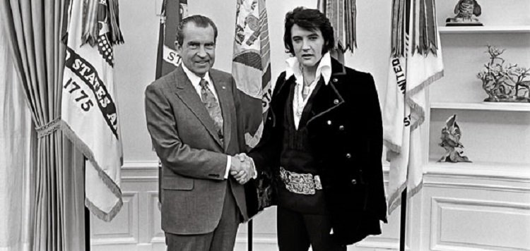 Bizarre White House Guests Elvis