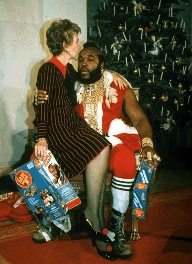 Bizarre White House Guests Mr. T