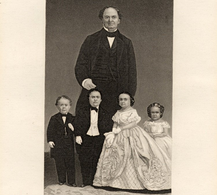 Bizarre White House Guests Tom Thumb