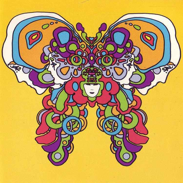 Peter Max Butterfly