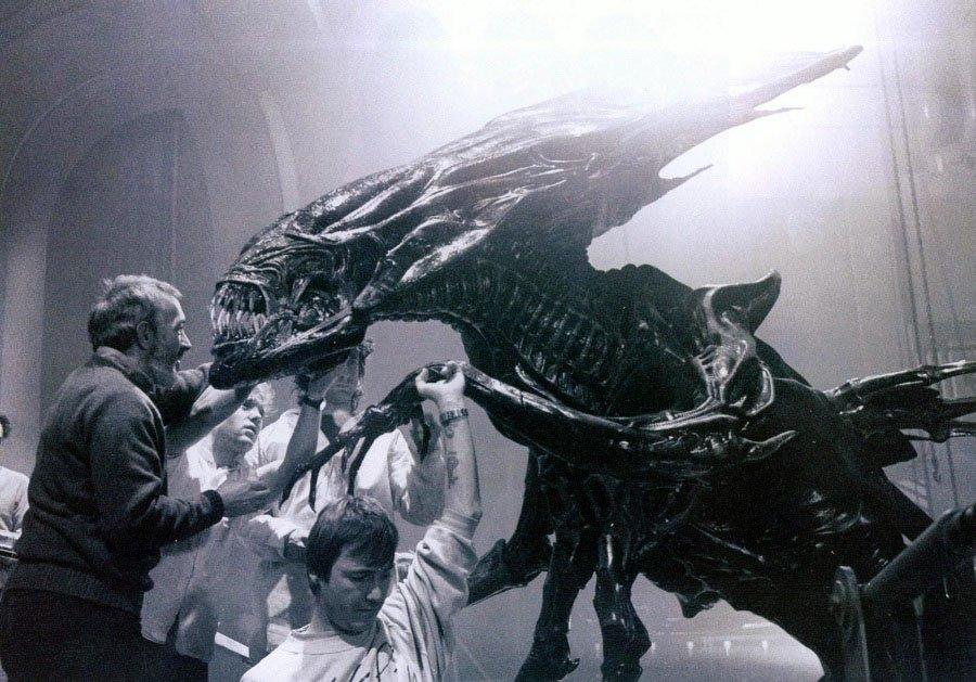 Behind The Scenes Alien