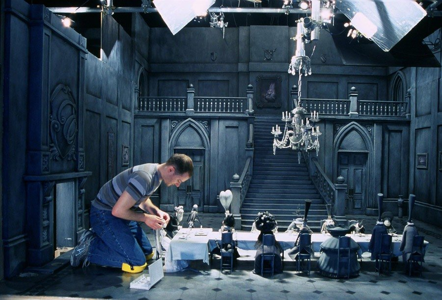 Behind The Scenes Corpse Bride