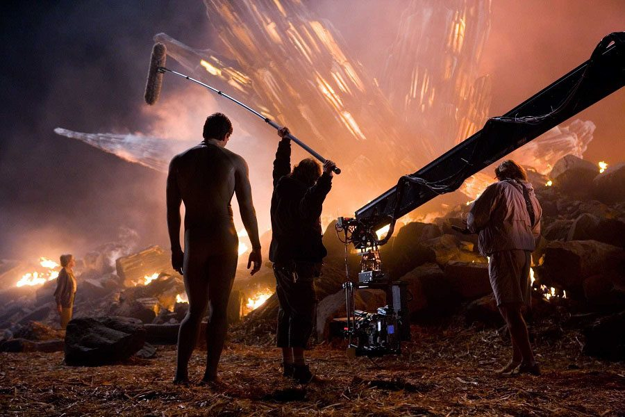 Behind The Scenes Man Of Steel