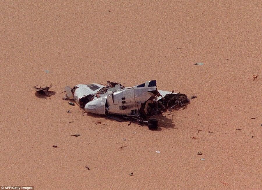 Crash Site Of UTA Flight 772
