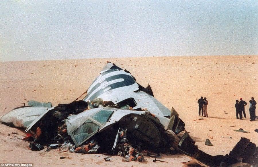 Fuselage Wreckage