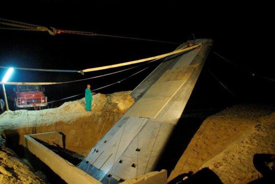 Flight 772 Memorial Wing Excavation