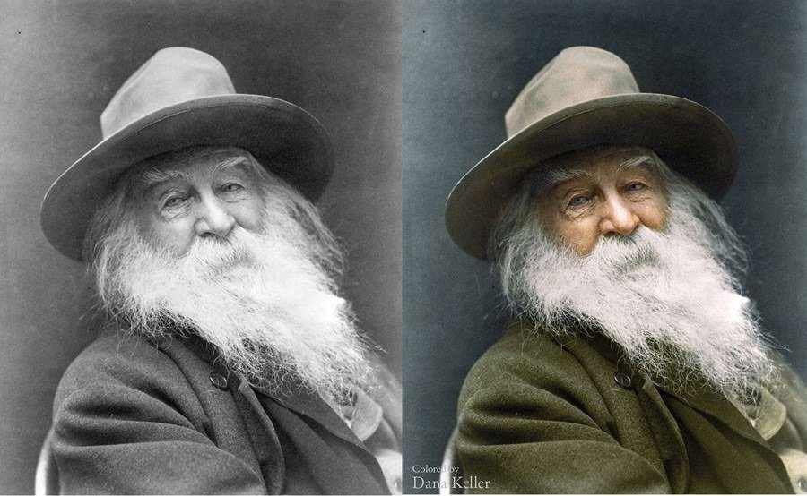 History In Color Walt Whitman