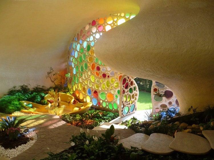 Nautilus House Entry