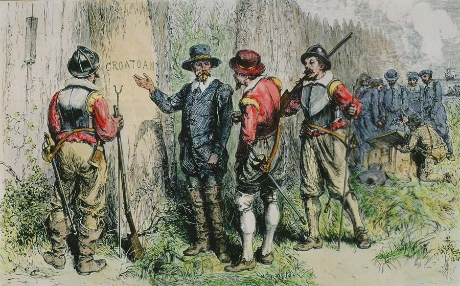 Roanoke Colony Croatoan Tree