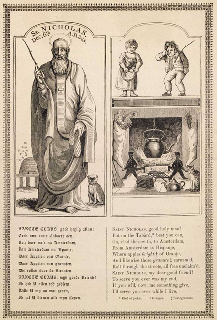 Santa Claus 1810 Alexander Anderson
