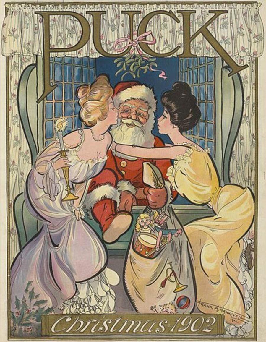 Santa Claus 1902 Puck