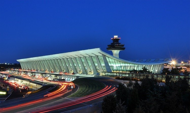 Googie Architecture Dulles Airport