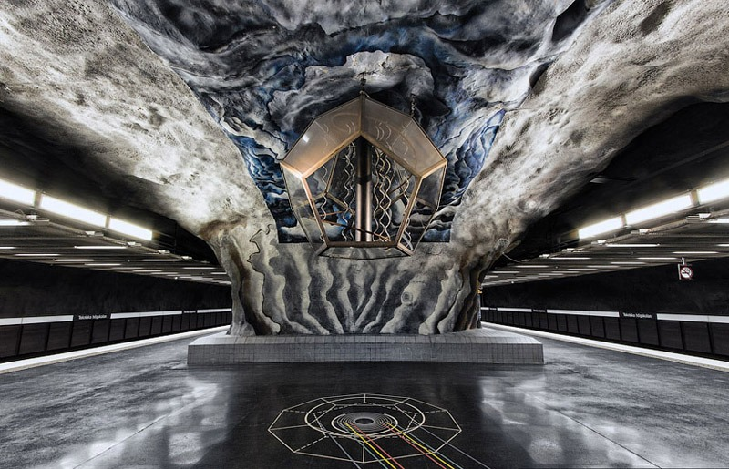 Stockholm Metro Prism Lantern