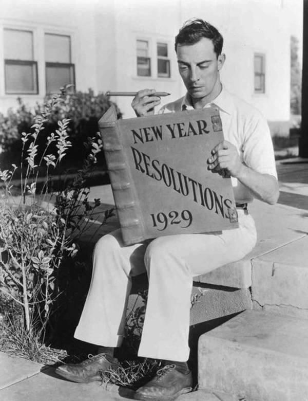 Buster Keaton Bw