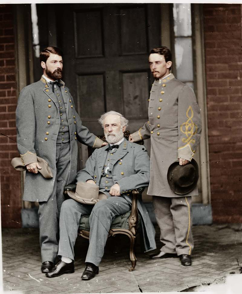 Civil War Three Generals