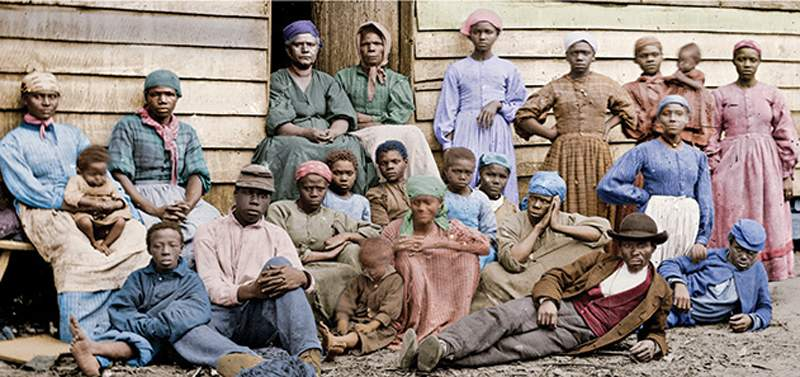 Civil War Plantation Slaves