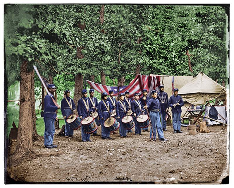 Civil War Union Drummers