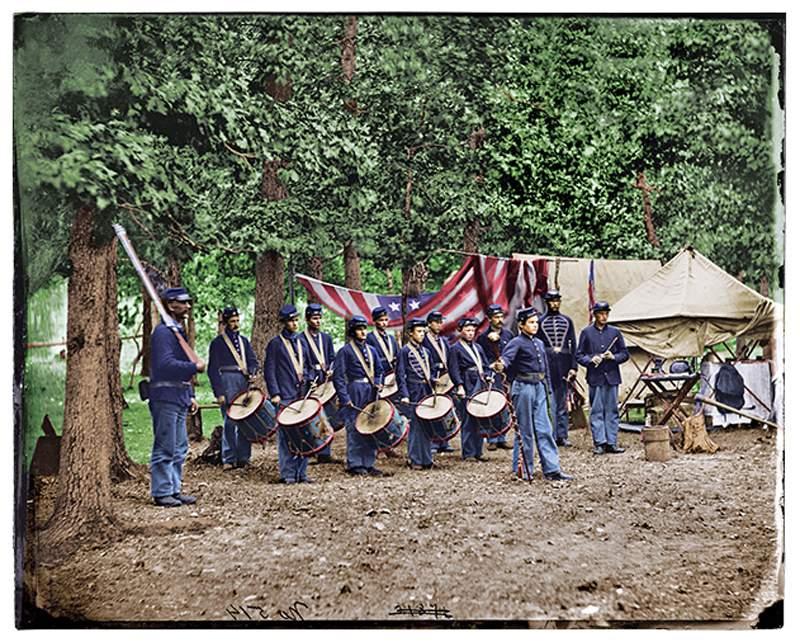 Civil War Union Drummers