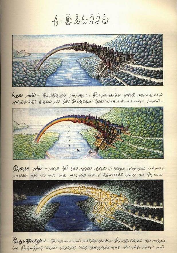 Codex Seraphinianus Rainbow City