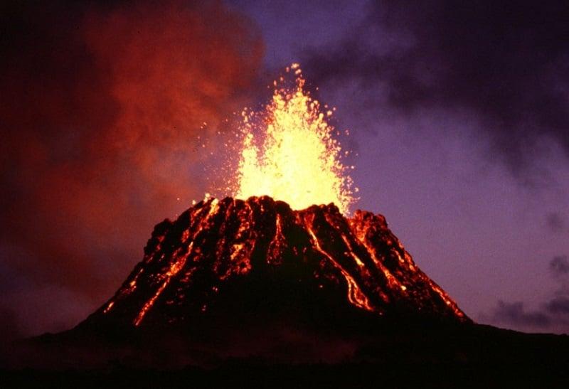 Volcano Eruptions Active Kilauea