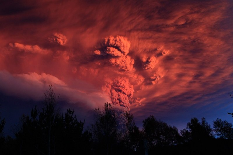 Volcano Eruptions Chile