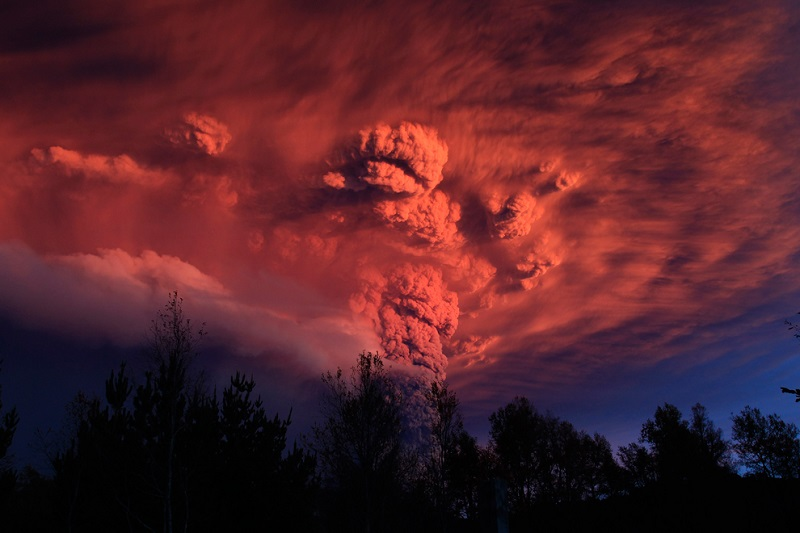 Volcano Eruptions Chile