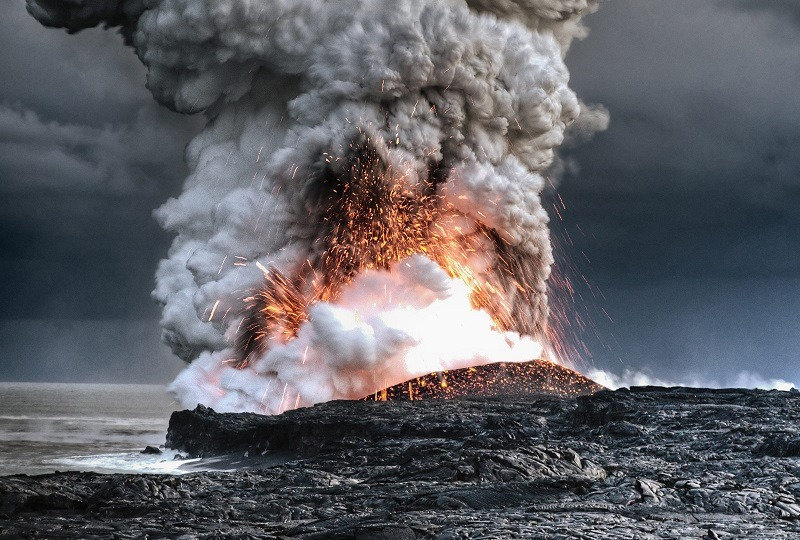 Volcano Eruptions Hawaii