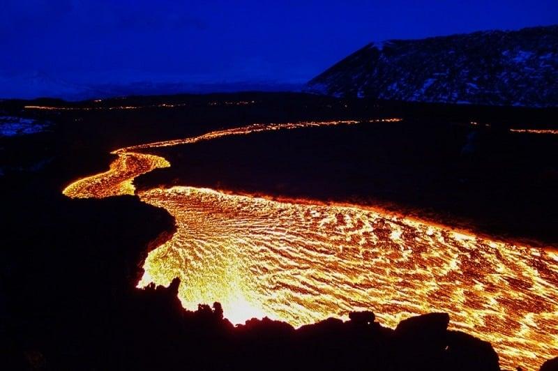 Volcano Eruptions Tolbachik