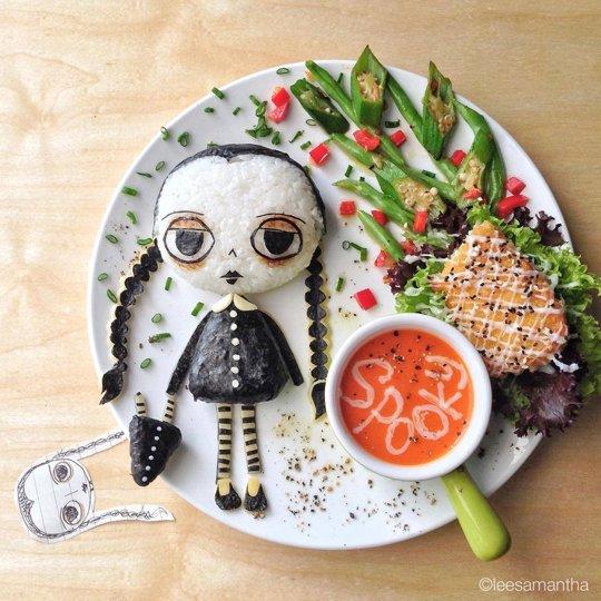Halloween Food Addams