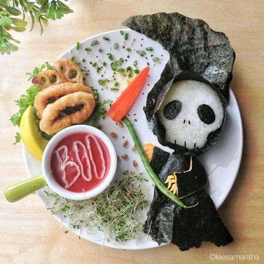 Halloween Food Grim Reaper