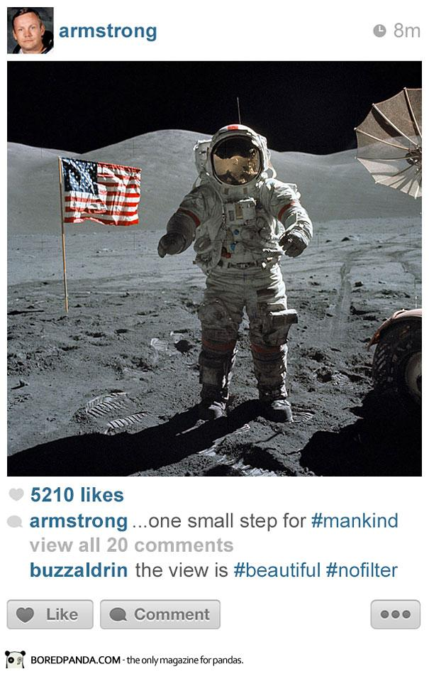 Histagram Neil Armstrong