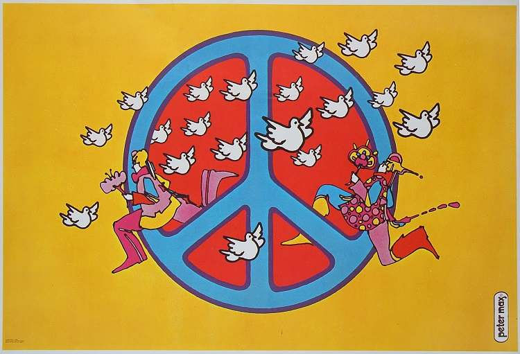 Peter Max Doves