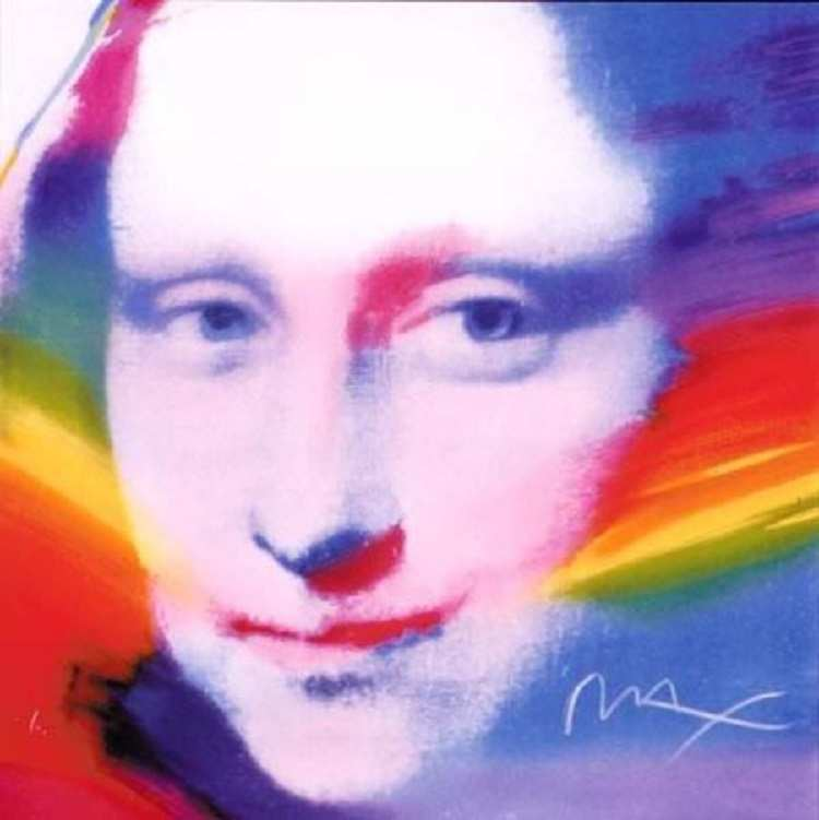 Peter Max Mona Lisa
