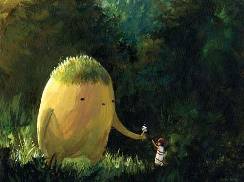 Hayao Miyazaki Illustration