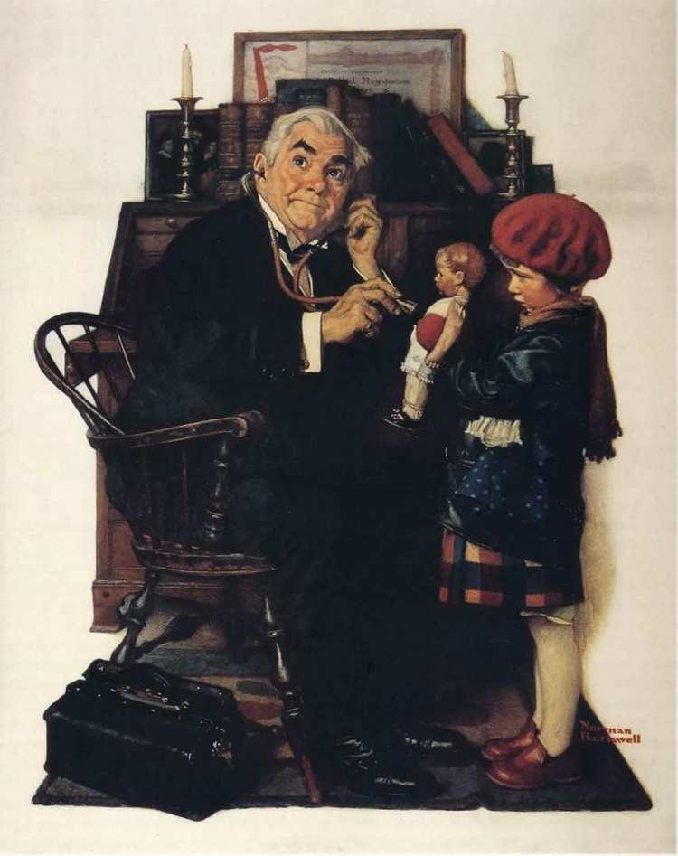 Norman Rockwell Illustration