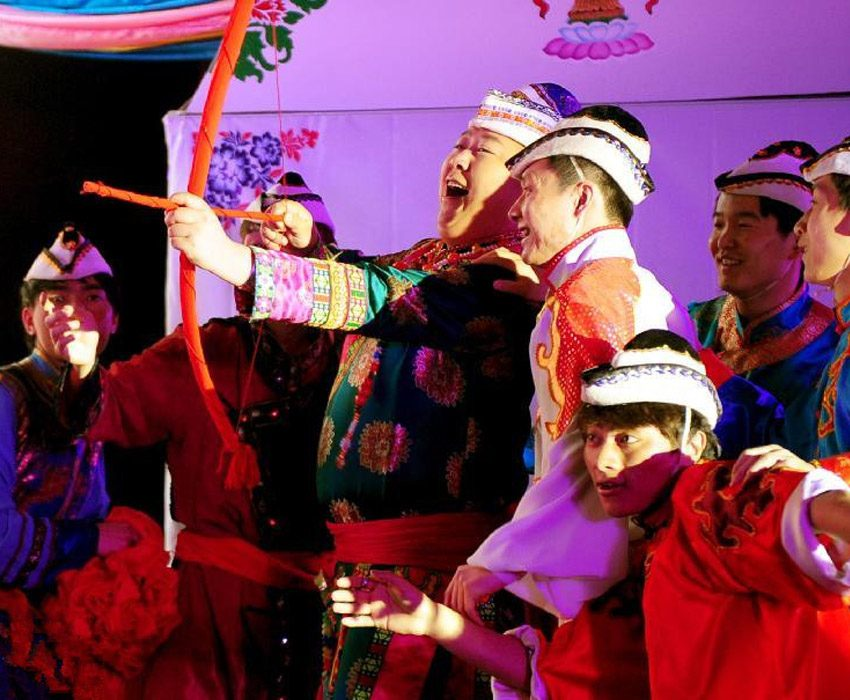 Interesting Wedding Traditions Yugur Bow
