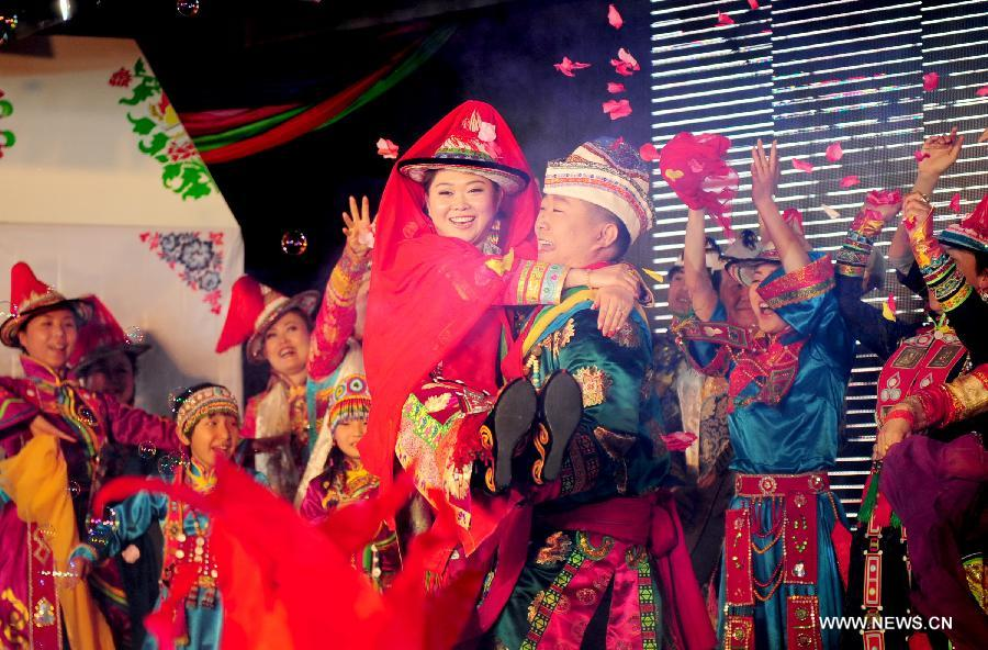 Interesting Wedding Traditions Yugur Celebration