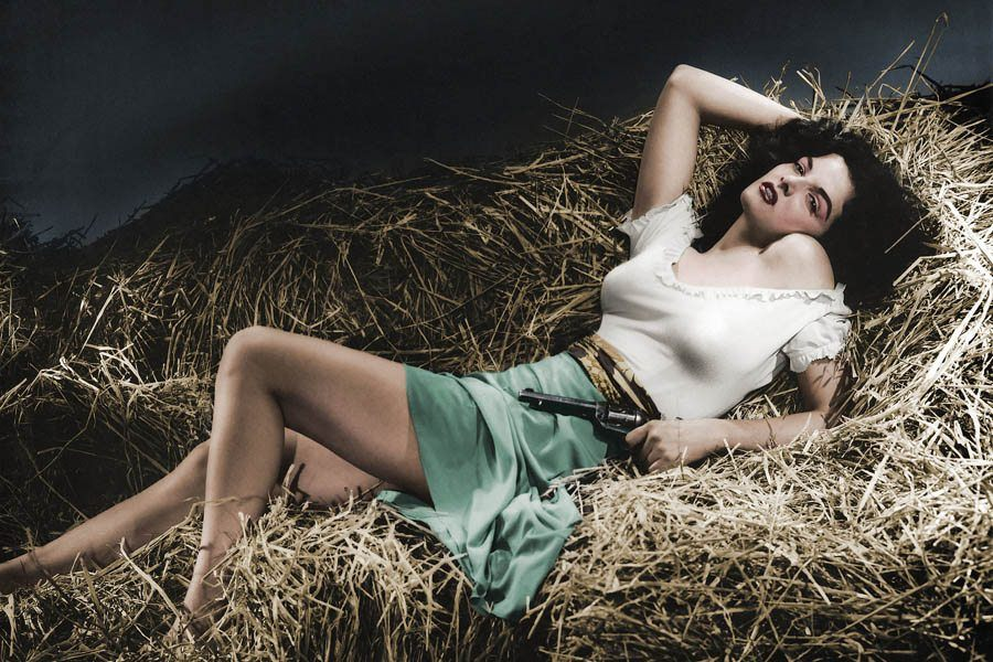 Jane Russell Color