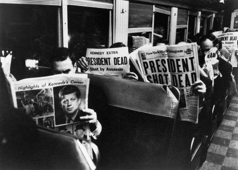 JFK Assassination New York Commuters