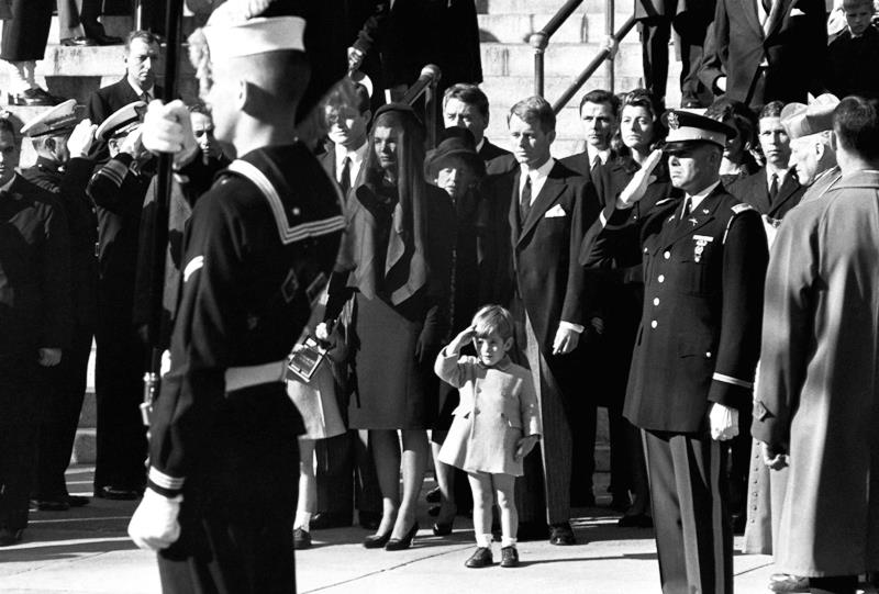 JFK Jr At John Kennedy's Funeral