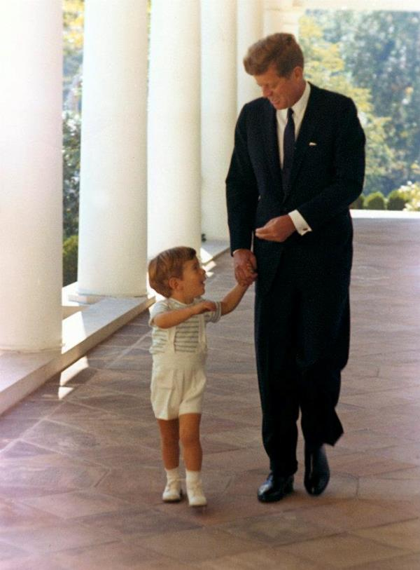 John F Kennedy And Son
