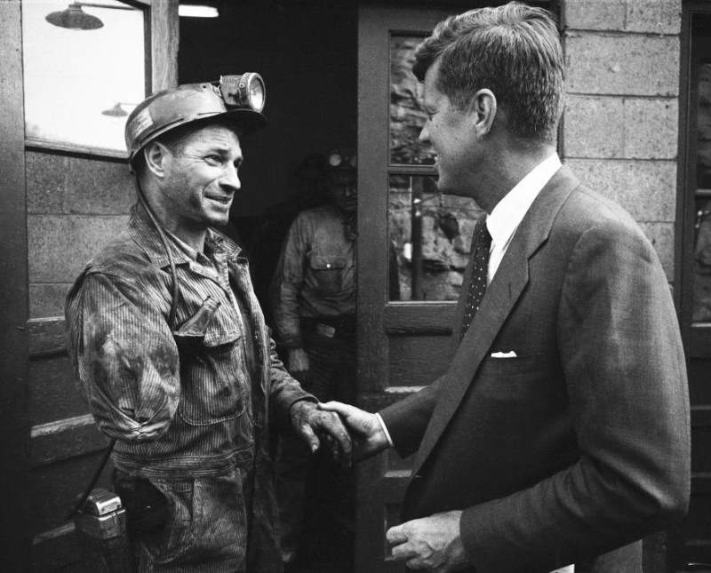 John F Kennedy Campaigns In West Virginia