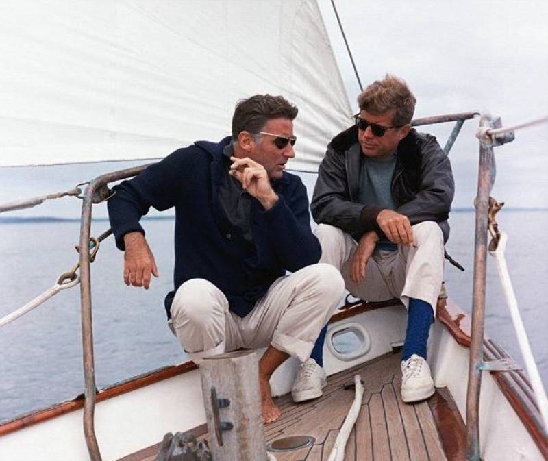 John F. Kennedy Photos Sailing