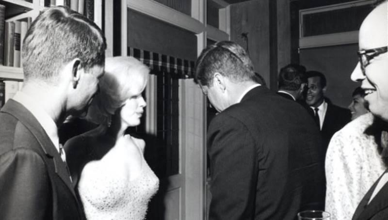 John Kennedy Marilyn Monroe Photograph