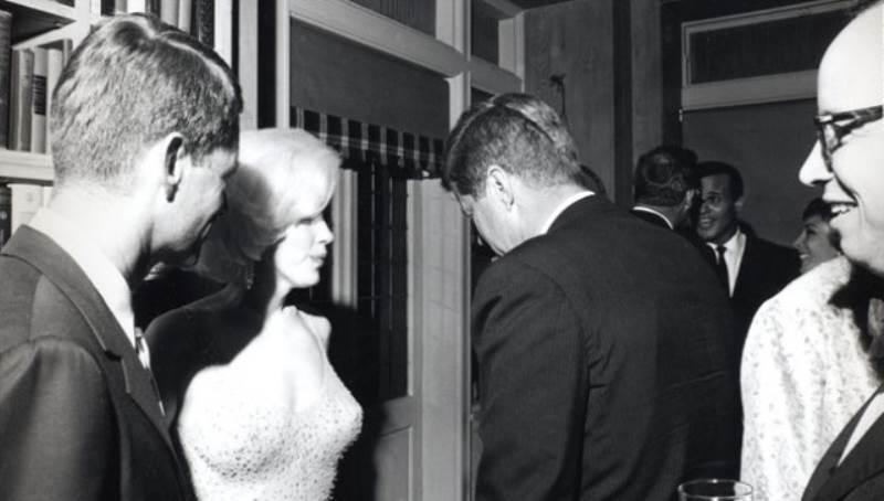 John Kennedy Marilyn Monroe Photograph