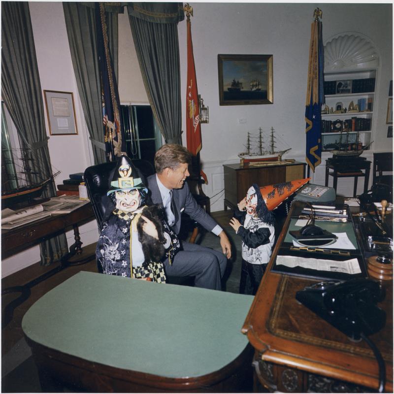 John Kennedy Photos Halloween