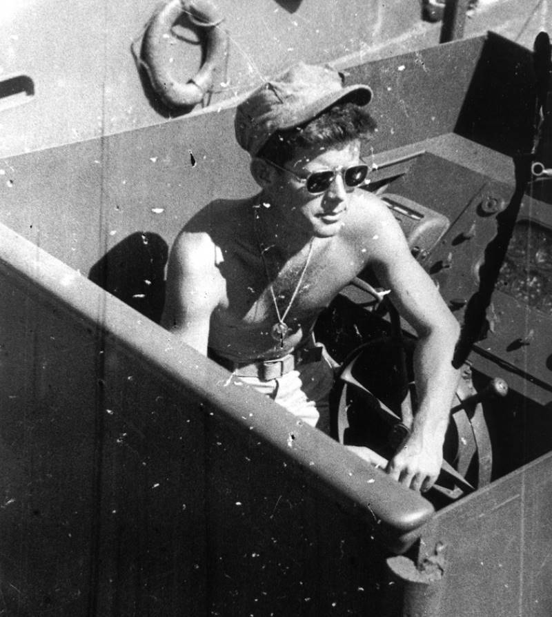 John Kennedy Photos World War 2