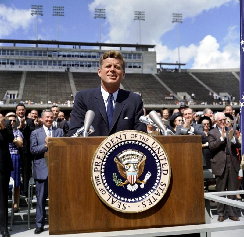 John Kennedy Speech At Rice