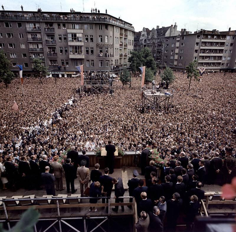 John Kennedy Speech In Berlin