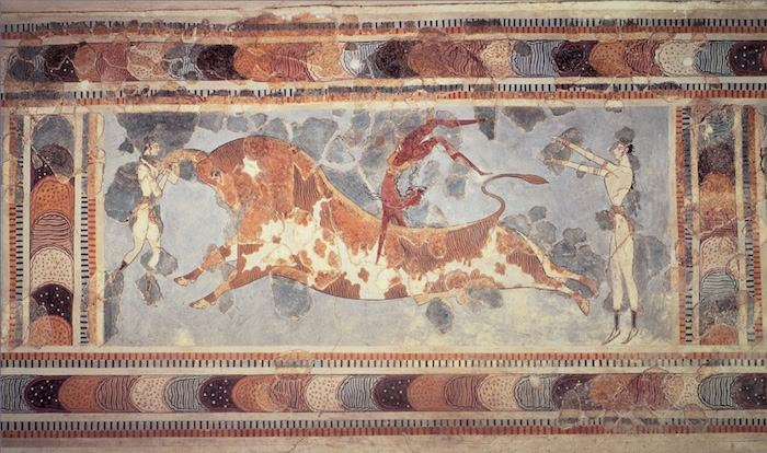 Lost Civilizations Minoan Fresco